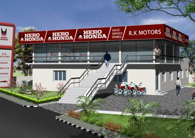 Hero Honda Showroom